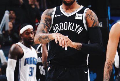D'Angelo Russell sofre lesão no joelho e desfalcará Nets - The Playoffs