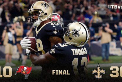 Com show de Alvin Kamara, Saints vencem Buccaneers - The Playoffs
