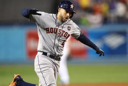 Líder de home runs da Liga Americana, George Springer é colocado na lista de lesionados - The Playoffs