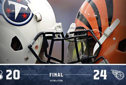 DeMarco Murray brilha e Titans vencem Bengals no último minuto do jogo - The Playoffs