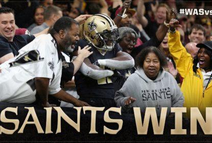 Em último quarto impressionante de Drew Brees, Saints vencem Redskins - The Playoffs