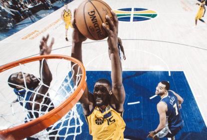 Utah Jazz derrota o Denver Nuggets em casa em noite inspirada de Derrick Favors - The Playoffs
