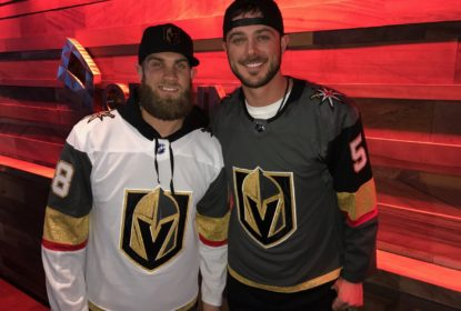 Harper e Bryant vão juntos a jogo da NHL - The Playoffs