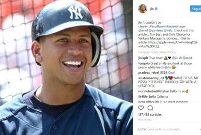 Jennifer Lopez quer A-Rod como manager dos Yankees - The Playoffs