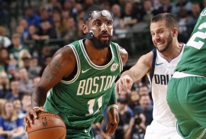 Mascarado, Kyrie Irving brilha e Boston Celtics vence o Dallas Mavericks na prorrogação - The Playoffs