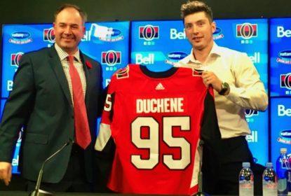 Matt Duchene se apresenta e quer jogar playoffs com os Senators - The Playoffs