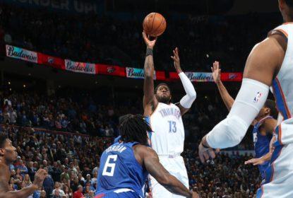 Em busca de recuperação Oklahoma City Thunder vence Los Angeles Clippers em casa - The Playoffs