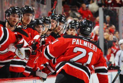 Destaque dos Devils, Kyle Palmieri quebra o pé e ficará fora de 4 a 6 semanas - The Playoffs
