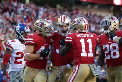 49ers batem Giants em casa e ganham primeira partida na temporada 2017 da NFL - The Playoffs