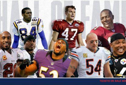 NFL anuncia semifinalistas da classe de 2018 do Hall da Fama - The Playoffs