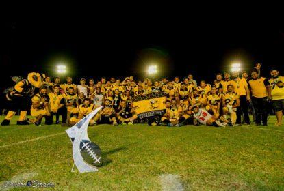 Sorriso Hornets é campeão da Liga Nacional de Futebol Americano - The Playoffs