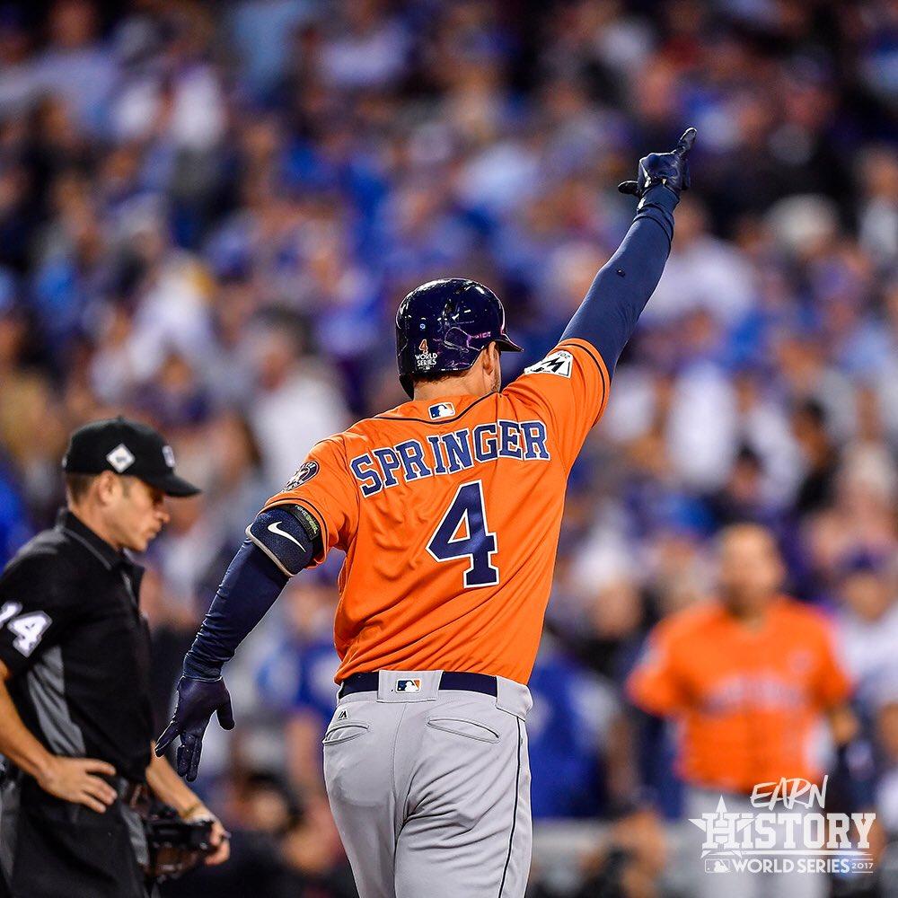 Houston Astros Bate Los Angeles Dodgers E Leva A World Series
