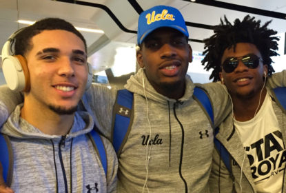 UCLA debate uma possível suspensão para trio preso na China - The Playoffs