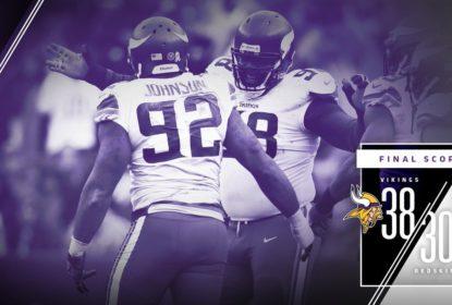 Vikings vencem Redskins em duelo de ataques dominantes - The Playoffs