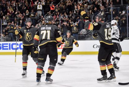 William Karlsson marca dois e Golden Knights vencem Kings - The Playoffs