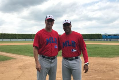[ENTREVISTA] Barry Larkin e Steve Finley: 'O futuro do beisebol no Brasil é brilhante' - The Playoffs