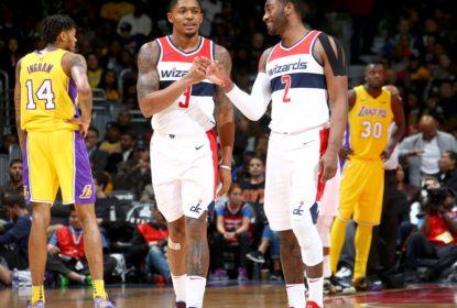 Wall lidera Wizards em vitória contra os Lakers - The Playoffs