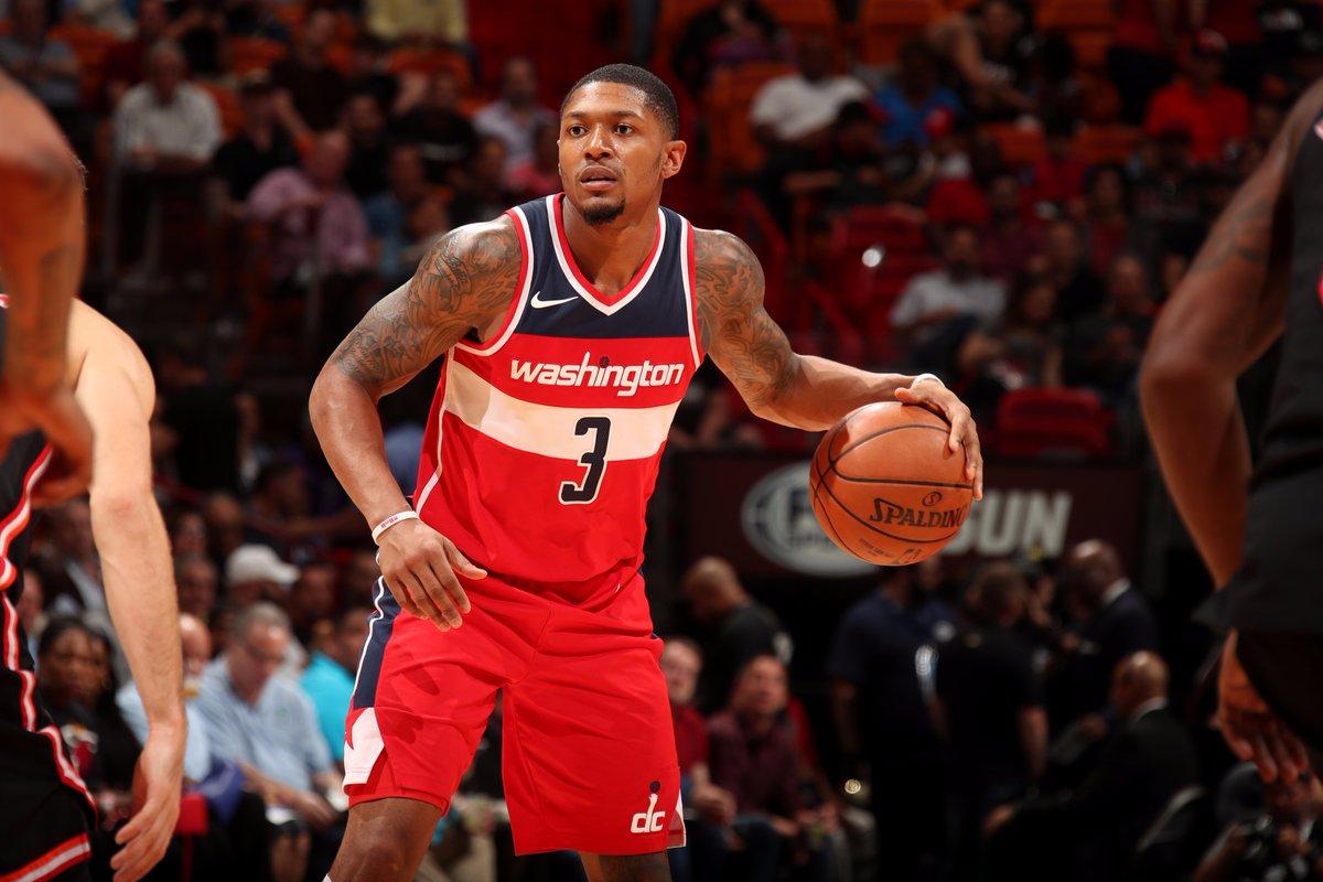 Beal e Wall lideram vitória dos Wizards sobre o Heat
