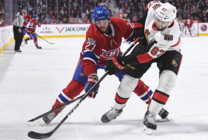 Senators perdem clássico para os Canadiens e aumentam a crise - The Playoffs