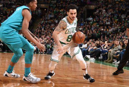 Sem Kyrie Irving, Celtics recuperam desvantagem de 18 pontos e vencem Hornets - The Playoffs