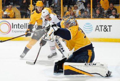 Pekka Rinne brilha e Predators vencem Blackhawks em Nashville