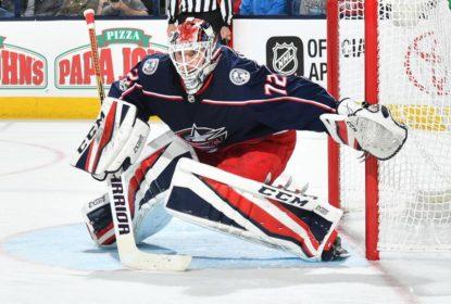 Com shutout de Sergei Bobrovsky, Blue Jackets vencem Rangers - The Playoffs
