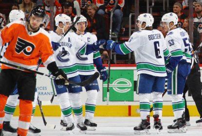 Brock Boeser marca dois e Canucks vencem Flyers - The Playoffs