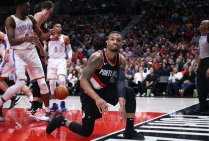Com double-double de Lillard, Blazers vencem Thunder - The Playoffs
