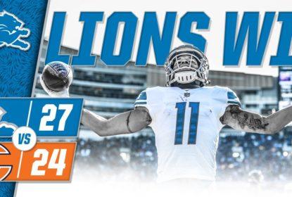 Detroit Lions vence Chicago Bears com field goal nos minutos finais - The Playoffs