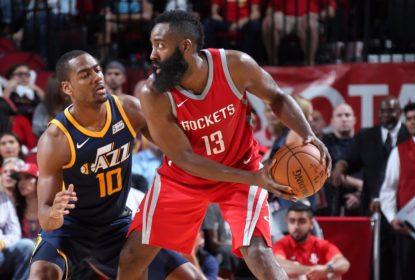 Com 56 pontos, Harden anota maior marca da carreira em vitória dos Rockets - The Playoffs