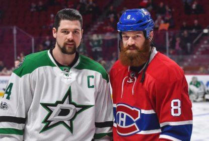 Irmãos Benn se encontram em um lance bem físico na NHL - The Playoffs