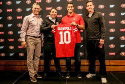 49ers esperam ver Jimmy Garoppolo em campo em breve - The Playoffs