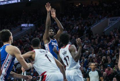 Com mais um double-double de Embiid, 76ers batem Blazers - The Playoffs
