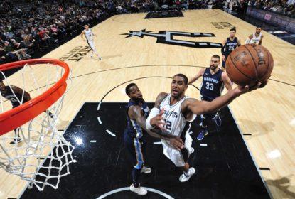 Com 41 pontos de Aldridge, Spurs vencem Grizzlies em casa - The Playoffs