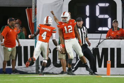 Miami supera Clemson e aparece em segundo lugar no ranking do College - The Playoffs