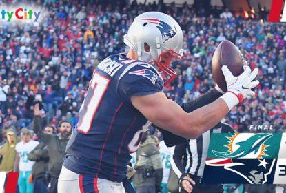 New England Patriots vence sétima seguida e derrota Miami Dolphins - The Playoffs