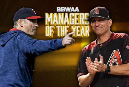 Paul Molitor, dos Twins, e Torey Lovullo, dos D-Backs, são os Managers do Ano da MLB - The Playoffs