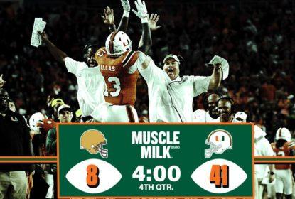 Miami vence duelo contra Notre Dame e entra na briga pelos playoffs - The Playoffs