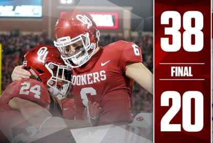 Oklahoma derrota TCU por 38 a 20