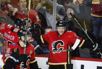 Com ataques em alta, Calgary Flames derrota St. Louis Blues - The Playoffs