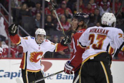 Fora de casa, Calgary Flames derrota Washington Capitals - The Playoffs