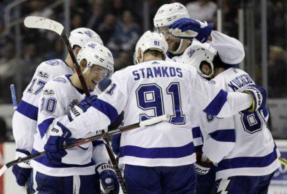 Imponente, Tampa Bay Lightning derrota San Jose Sharks - The Playoffs