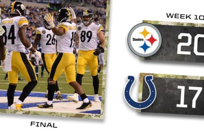 Pittsburgh Steelers reage no segundo tempo e vence Indianapolis Colts - The Playoffs