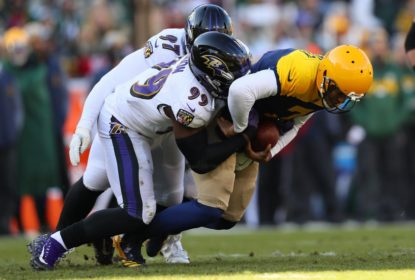 Ravens humilham Packers com shutout em pleno Lambeau Field - The Playoffs