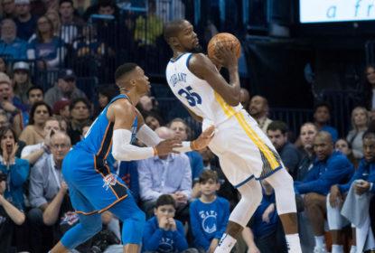 Kevin Durant minimiza discussão com Russell Westbrook após derrota em OKC - The Playoffs