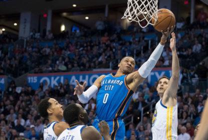 Thunder bate Warriors em reencontro tenso de Westbrook e Durant - The Playoffs