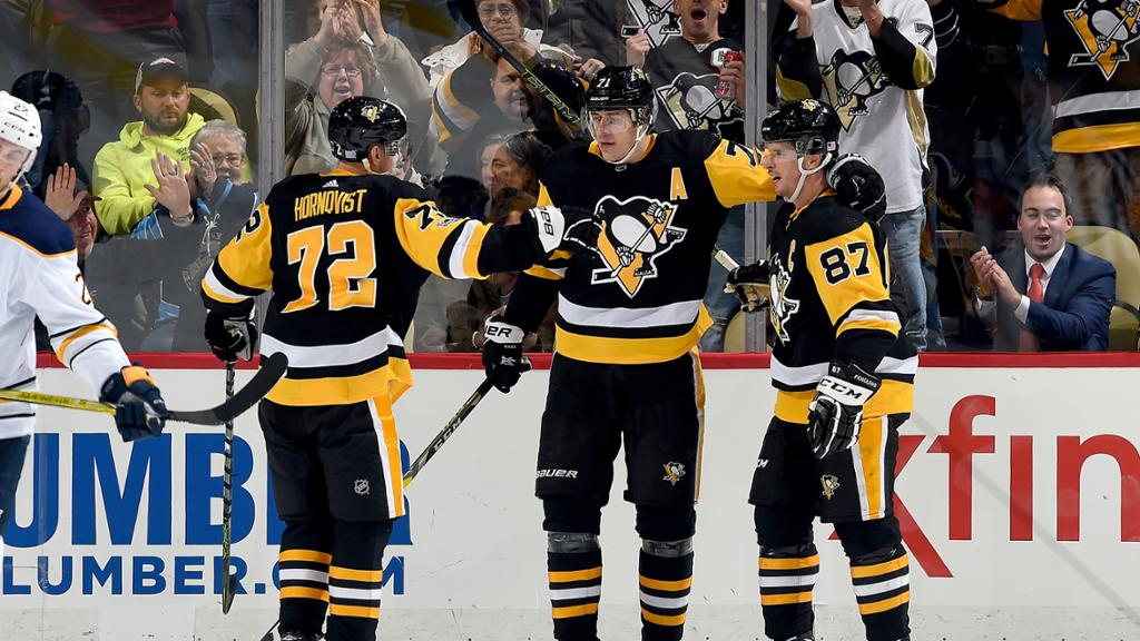 Conor Sheary marca e Penguins vencem Sabres