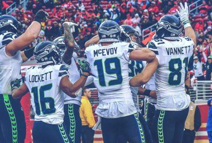 Seattle Seahawks vence San Francisco 49ers com estreia de Garoppolo no final - The Playoffs