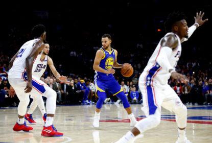 Stephen Curry comanda virada do Golden State Warriors sobre Philadelphia 76ers - The Playoffs