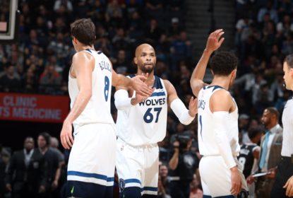 Minnesota Timberwolves vence confronto direto contra o San Antonio Spurs - The Playoffs